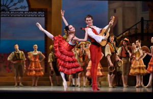 Mathilde Froustey and Carlos Quenedit in Tomasson/Possokhov's Don Quixote. © Erik Tomasson